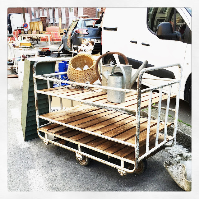 Chariot / Brocante d'Amiens, avril 2016 / Photos Atelier rue verte /