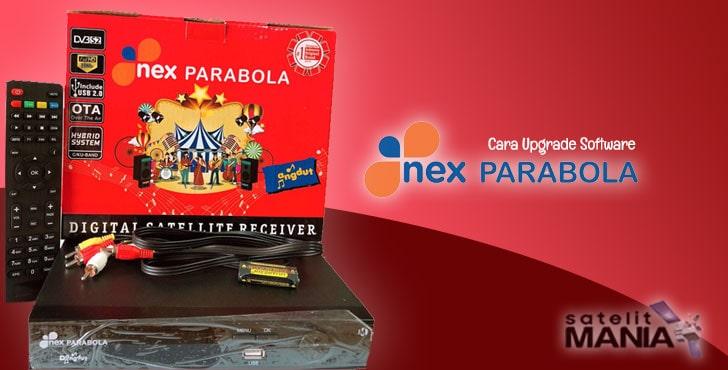 Cara Upgrade SW Receiver Nex Parabola Merah