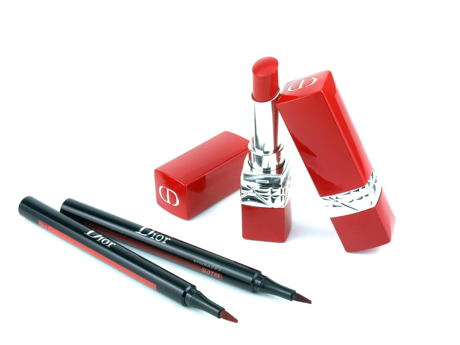 Dior | Ultra Rouge Ultra Pigmented Hydra Lipstick & Ink Lip Liner: Review and Swatches
