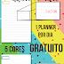 Planner 2018 #6: folha pautada e pontilhada (gratuito para download)
