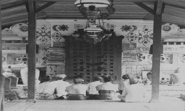 Denah Komplek Pemakaman Sunan Gunung Jati Cirebon