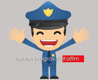 Alamat kantor Imigrasi di Kalimantan Timur