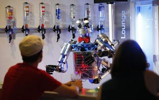 robot barman