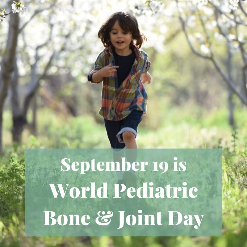 World Pediatric Bone and Joint Day Wishes