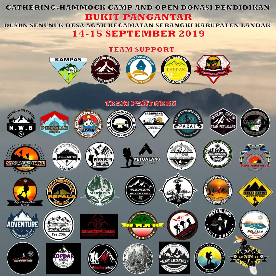 Pendakian Perdana Bukit Pengantar Destinasi Wisata Baru Di Kabupaten Landak
