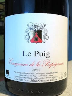 Le Puig Carignane de la Perpignane 2013 (89 pts)