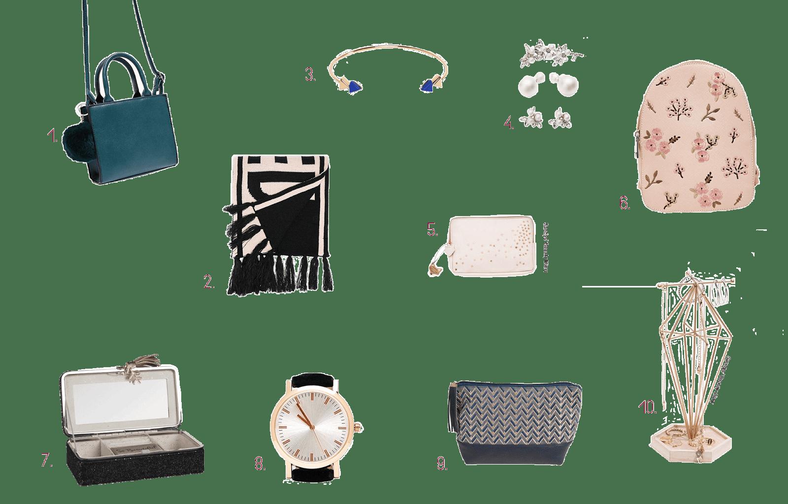 idées cadeaux petit prix noël 2017 mode accessoires