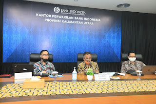Walikota Tarakan Menghadiri Sekaligus Menjadi Narasumber Diskusi Melalui Zoom Meeting - Tarakan Info