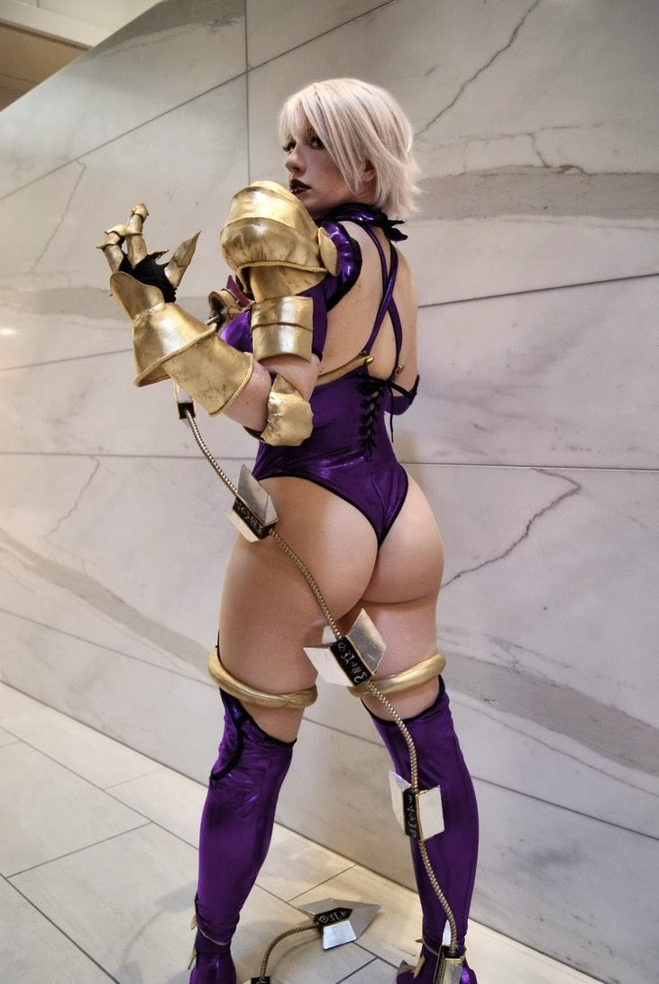 Big Culo Day 2014: Ivi Valentine Cosplay