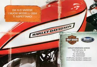 harley davidson varese 2003