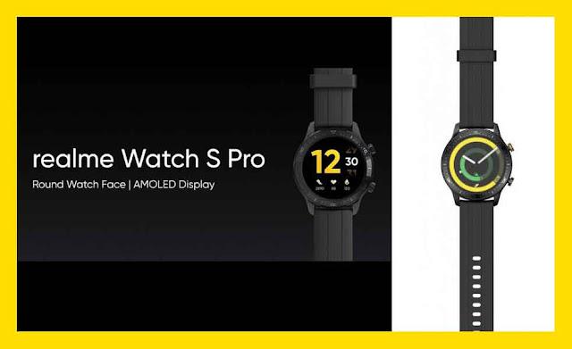 ريلمي ووتش اس برو Realme Watch S Pro  أول ساعة من شركة ريلمي الصينية
