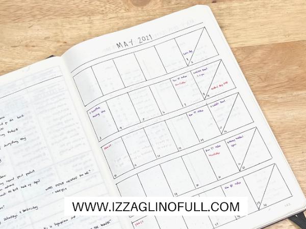 May 2021 Bullet Journal Set Up