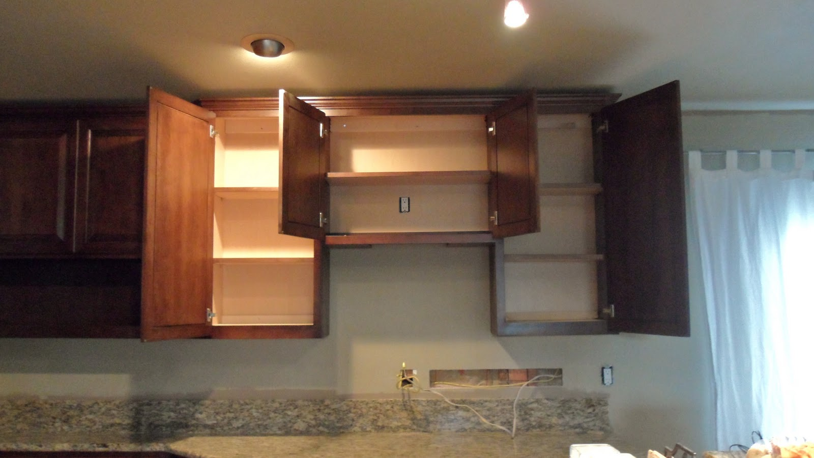 Open Kitchen Cabinets Aid Pro Line Cabinet