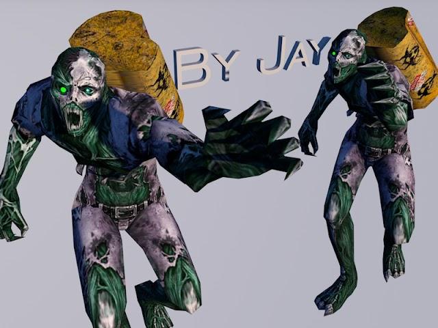 Model Radioactive Zombie