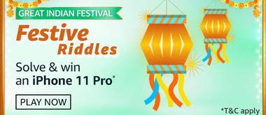 Amazon Great Indian Festival Festive Riddles Quiz