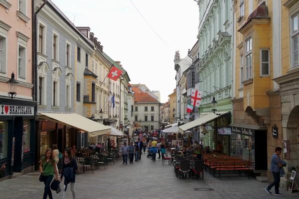 bratislava vieille ville centre
