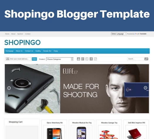 top 5 responsive ecommerce blogger template, shopingo blogger template, ecommerce responsive blogger template free download