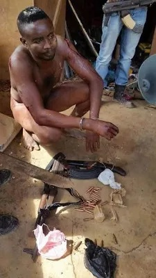 See Photos Of The Two Notorious Kidnappers Who Killed And Buried Their Victim After Collecting N5m Ranson Arrested In Anambra