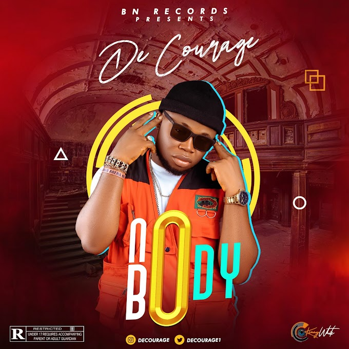 AUDIO: De courage - Nobody prod by Ransome