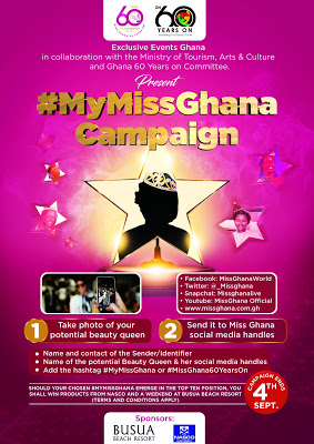 Miss Ghana Organization Calls On Public To Help Choose This Year's Beauty Queen