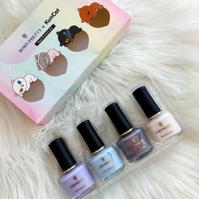 Tanda de manicuras pastel con Born Pretty Store  10