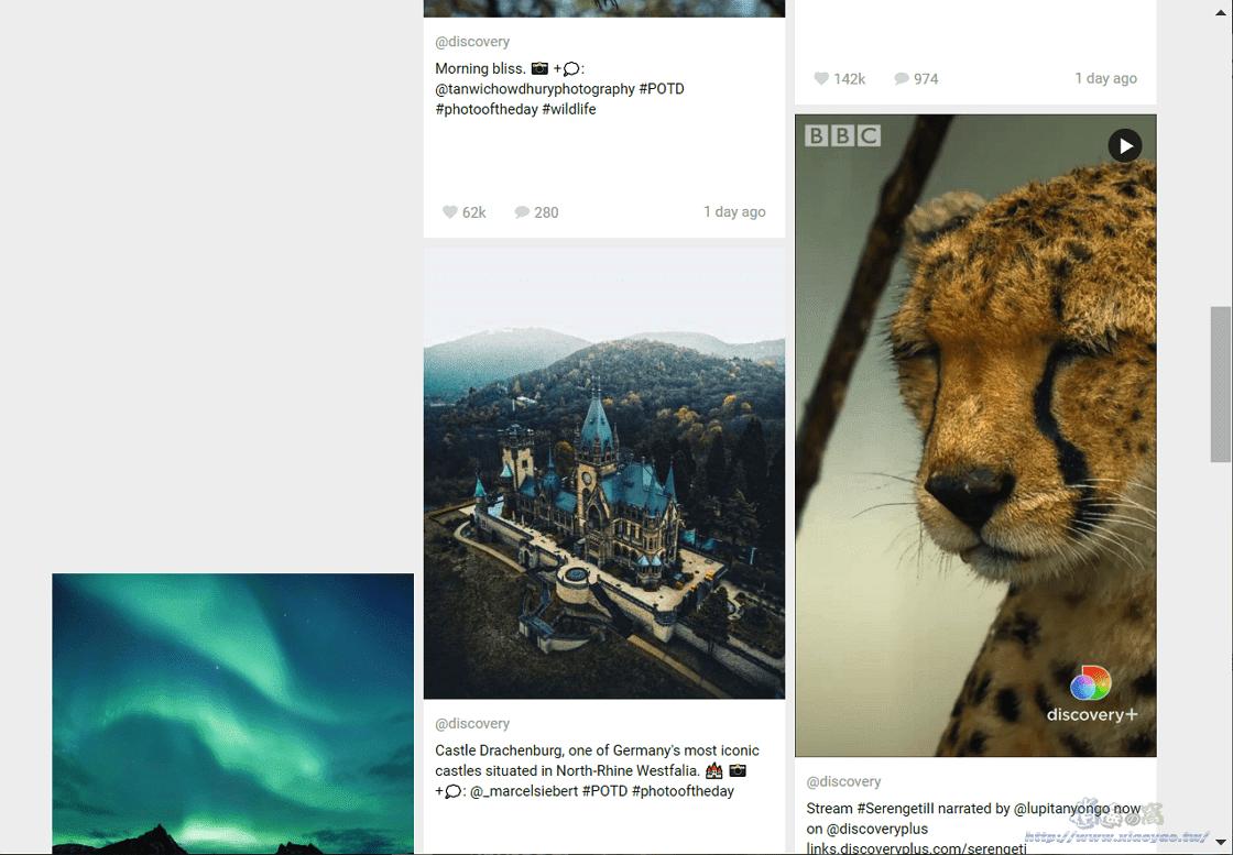 Gramho 匿名查看 Instagram 帳號統計資料和新貼文