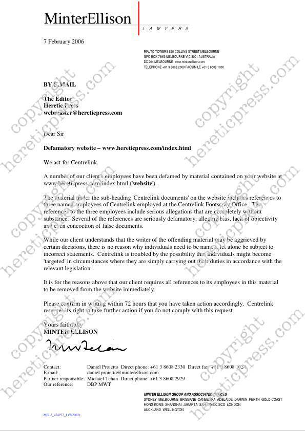 How To Write Legal Letter Image collections - Letter Format Formal - sample legal letter format