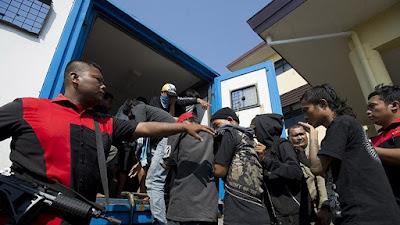 Tiga Perusak Jalan Ke PLTGU Tanjung Priok Di Tangkap Polisi
