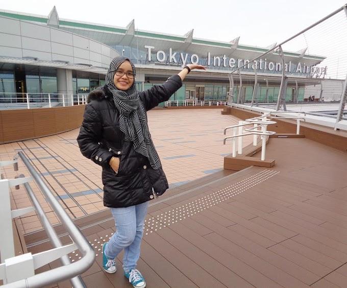 Percutian ke Tokyo selama 9 hari 8 malam (Day 1)