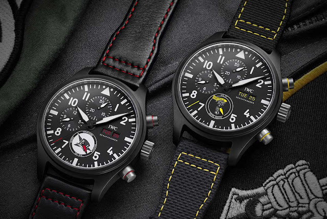 IWC Pilot's Watches Chronograph U.S. Navy Squadrons Editions