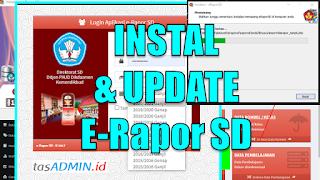 Cara Instal dan Upadate Versi E-Rapor SD