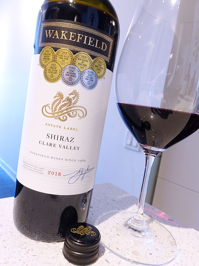 Wakefield Estate Shiraz 2018 (89 pts)