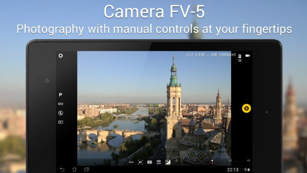 Camera FV-5 Lite – бесплатное приложение для андроида