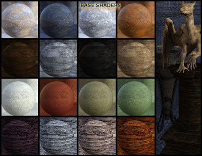 FSL Weathered Shaders for Iray