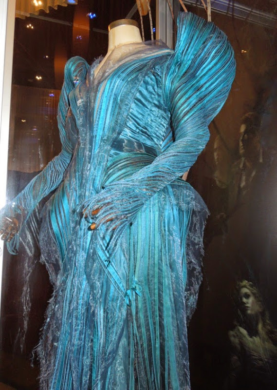 Into the Woods blue Witch gown