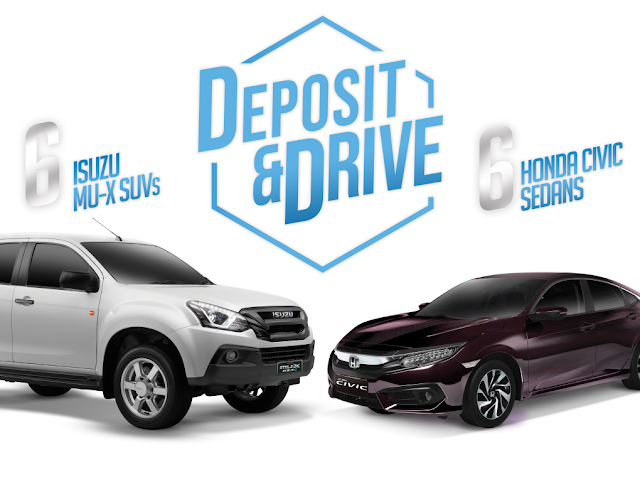 RCBC Deposit and Drive