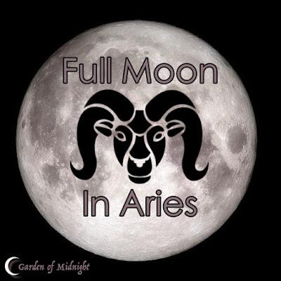 luna piena ariete fasi lunari