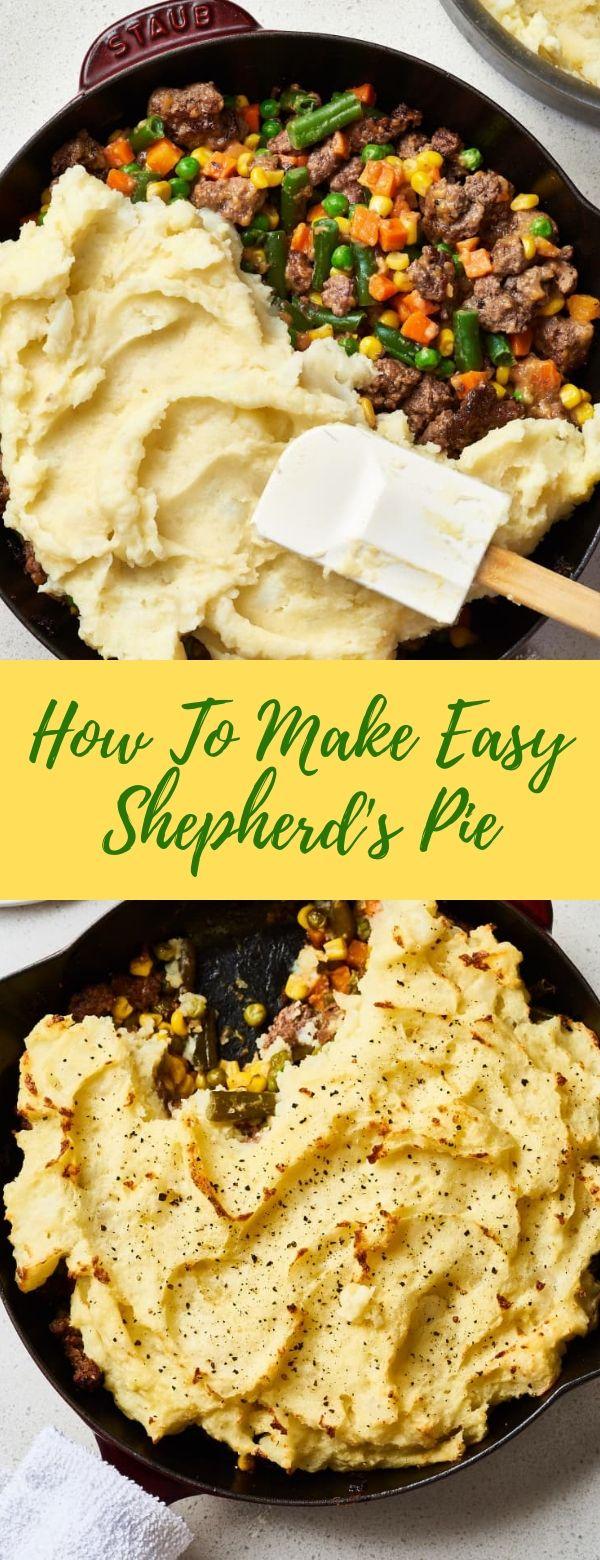 How To Make Easy Shepherd's Pie #easy #pie
