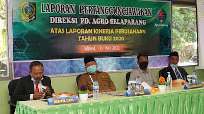 Bupati Sukiman Apresiasi Kinerja PD. Agro Selaparang