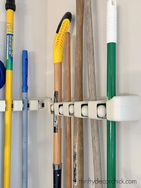garden tool wall storage