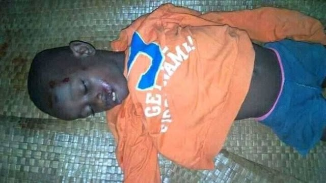 Boy Returning From School Killed By Politician's Convoy In Akwa Ibom. Photo