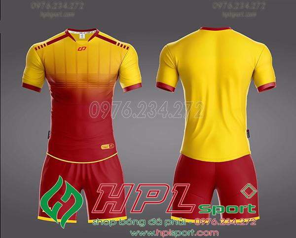 Áo bóng đá không logo Cp Cobat Màu vàng