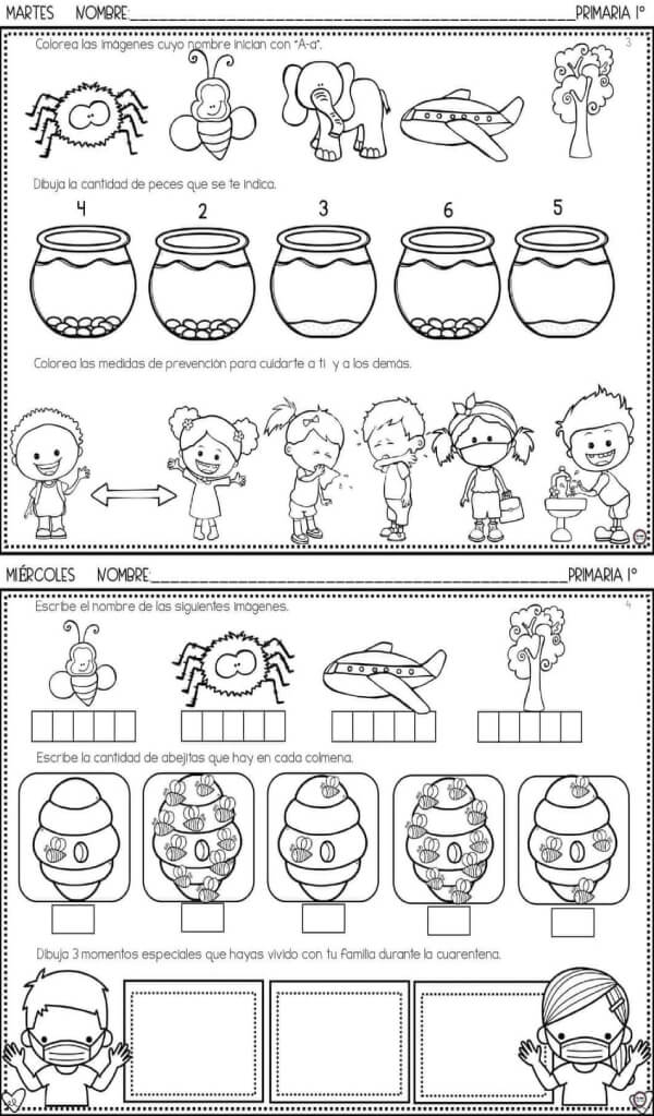 fichas-actividades-tareas-primer-grado