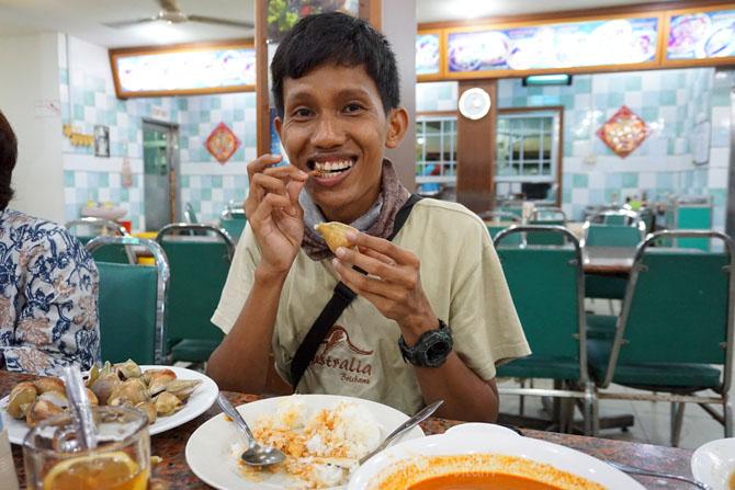 Gonggong, Kuliner asyik di Batam