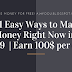 21 Easy Ways to Make Money Right Now in 2019  | Earn 100$ per day