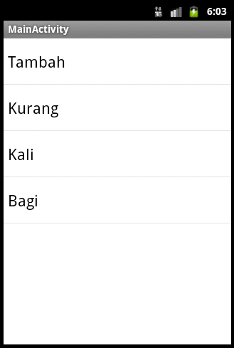 Membuat Listview Bertingkat | Tutorial Android