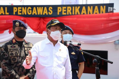 KKP era Trenggono menangkap 67 kapal 26 tenggelam mbg0GcD9eB KKP era Trenggono: 67 kapal ditangkap, 26 tenggelam
