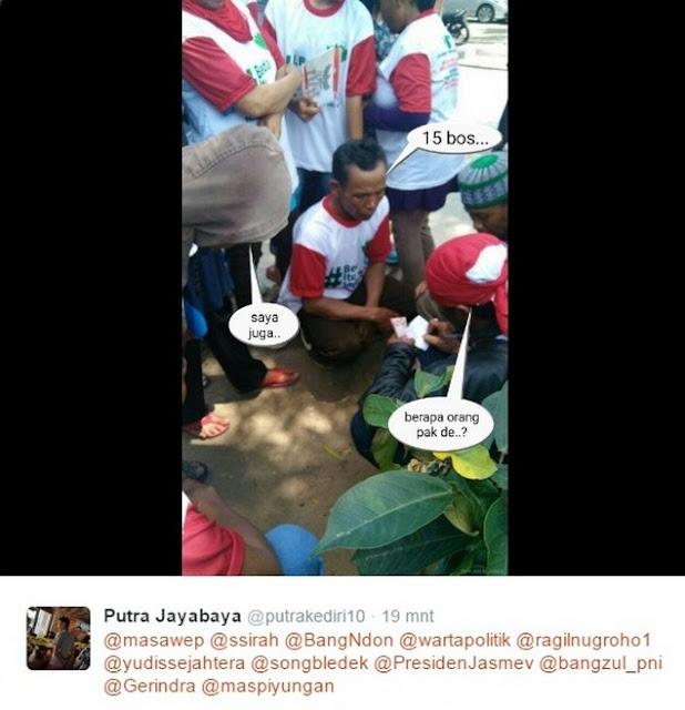 Ternyata Oh Ternayat !! Ikut Parade Bhinneka Tunggal Ika, Warga Dijanjikan Dapat Uang Rp50.000