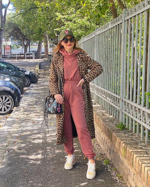 Femmeluxe loungewear dusty pink set