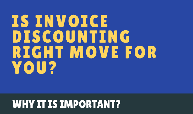 Is invoice discounting right move for you? #infographic